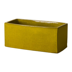 Window Box Planter - Mustard Yellow - Large