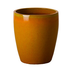 Bullet Planter - Bright Orange - Large