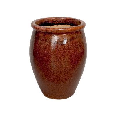 Lip Planter - Brown - Medium