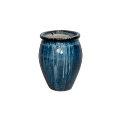 Lip Planter - Quin Blue - Small
