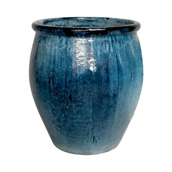 Lip Planter - Quin Blue - Large
