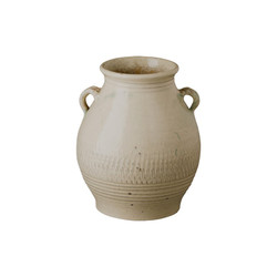 Short Twig Handle Urn - Sand Dune