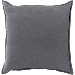 Surya Cotton Velvet Pillow - CV003 - 13 x 19 x 4 - Down