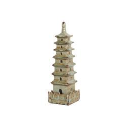 Square Pagoda - Foam Blue