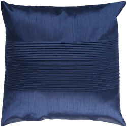 Surya Solid Pleated Pillow - HH029 - 18 x 18 x 4 - Poly
