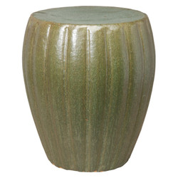 Garden Stool - Metallic Mint - Small