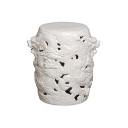 Dragon Stool - White - Small