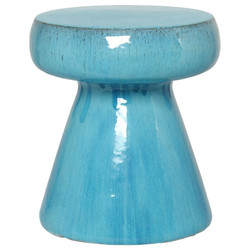 Mushroom Stool/Table - Blue
