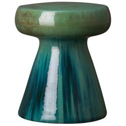 Mushroom Stool/Table - Lemon Green
