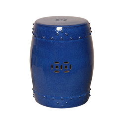 Drum Stool - Blue