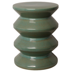 Accordion Stool - Green