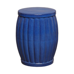 Garden Stool - Blue - Small