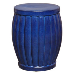 Garden Stool - Blue - Large