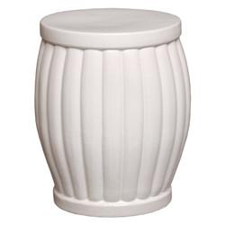 Garden Stool - White - Large