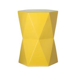 Matrix Hexagon Garden Stool/Table - Yellow