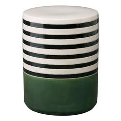 Stripe Garden Seat - Bay Green