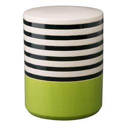 Stripe Garden Seat - Willow Green