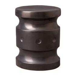 Spindle Stool - Gun Metal