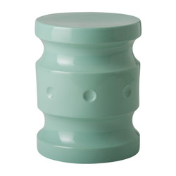 Spindle Stool - Light Teal