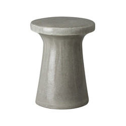 Plateau Garden Stool/Table - Gray