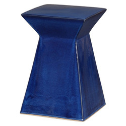 Upright Stool - Blue