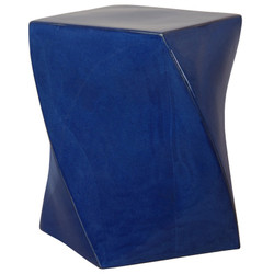 Twist Stool - Blue
