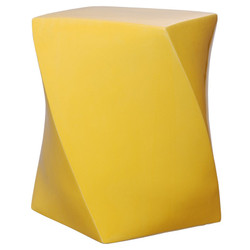 Twist Stool - Sun Yellow
