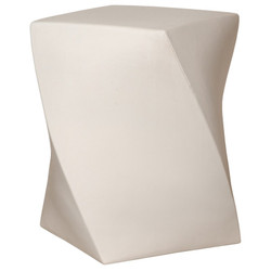 Twist Stool - White