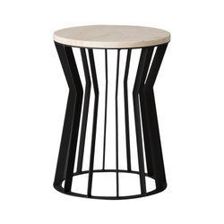 Millie Stool/Table - Black