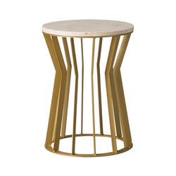 Millie Stool/Table - Gold