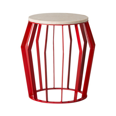 Billie Stool/Table - Red