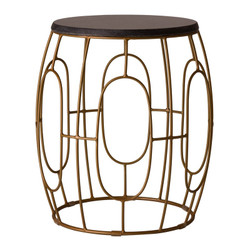 Oto Stool/Table - Gold