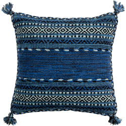Surya Trenza Pillow - TZ004 - 18 x 18 x 4 - Poly