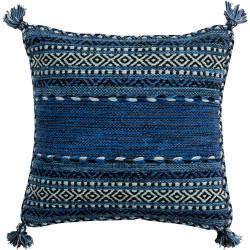 Surya Trenza Pillow - TZ004 - 22 x 22 x 5 - Poly