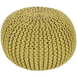 Surya Malmo Sphere Pouf - MLPF - Lime