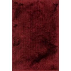 "Loloi Allure Shag Rug  AQ-01 Garnet - 5'-0"" x 7'-6"""