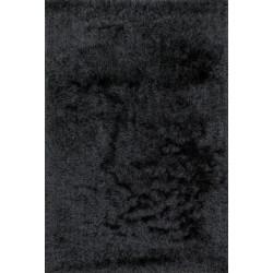 "Loloi Allure Shag Rug  AQ-01 Graphite - 3'-6"" x 5'-6"""