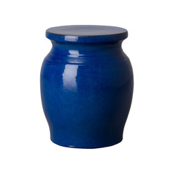Koji Garden Stool/Table - Blue