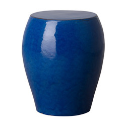 Seigi Garden Stool/Table - Blue