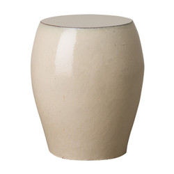 Seigi Garden Stool/Table - Cream