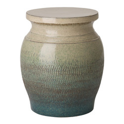 Large Koji Garden Stool/Table - Bayside Green
