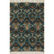 "Loloi Aria Rug  HAR01 Grey / Blue - 1'-8"" X 3'"