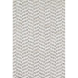 "Loloi Dorado Rug  DB-01 Grey / Ivory - 7'-9"" x 9'-9"""