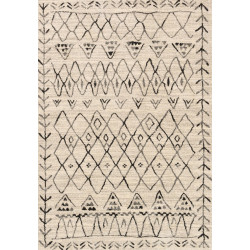 "Loloi Emory Rug  EB-09 Heather Gray / Black - 9'-2"" X 12'-7"""
