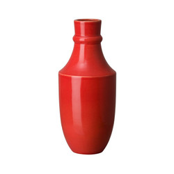 Bella Decanter Vase - Coral