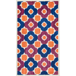 """Loloi Isabelle Rug  HIS02 Pink / Multi - 3'-0"""" x 3'-0"""" Round"""