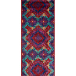 """Loloi Isabelle Rug  HIS03 Red / Teal - 2'-2"""" X 5'"""