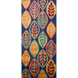 """Loloi Isabelle Rug  HIS04 Blue / Multi - 2'-2"""" X 5'"""