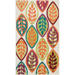"""Loloi Isabelle Rug  HIS04 Ivory / Multi - 3'-0"""" x 3'-0"""" Round"""