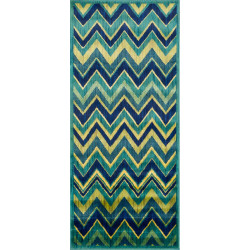 """Loloi Isabelle Rug  HIS07 Green / Multi - 2'-2"""" X 5'"""